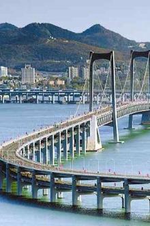 2015.11.15 周日 徒步滨海路 赏跨海大桥