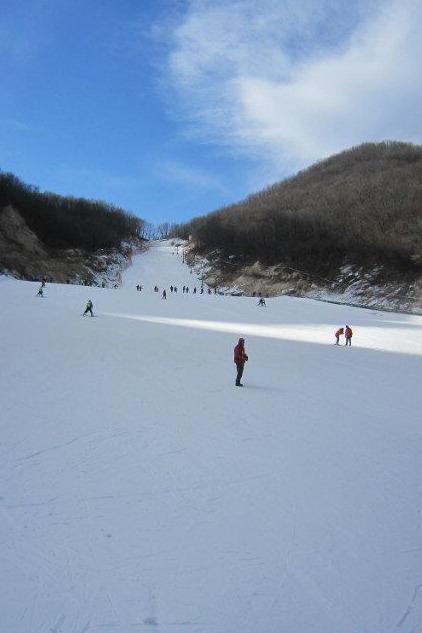 时尚户外2016年元月1日周五约伴平顶山尧山滑雪