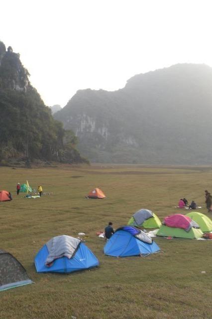 3月26-27徒步陆路上的漓江-布泉河 更望湖露营
