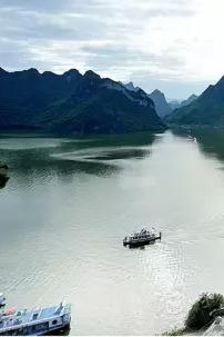 """周日8月23日""""中国的下龙湾""""上林大龙湖一日活动"""