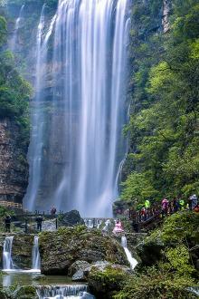 《周末去哪儿》之——九凤谷,三峡大瀑布二日自驾游