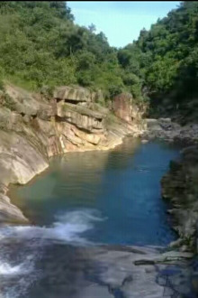 浩溪溯溪徒步玩水