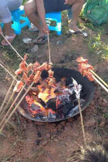 5月1日篝火烧烤