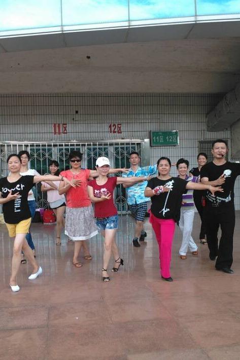 9月15日周四晚拉丁舞学习——伦巴入门课