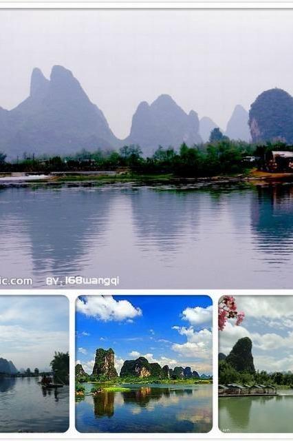 桂林、阳朔漓江、银子岩精华双动车4天