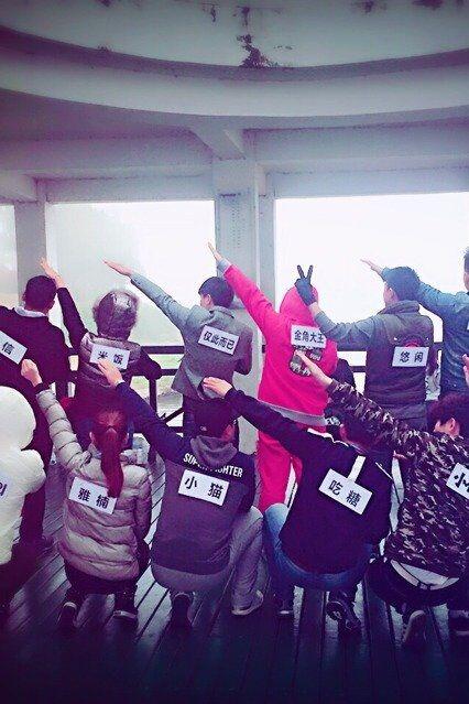 12月12日宝龙百大与青春群轰趴馆举办大型跑男活动