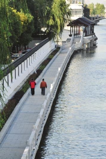 环古城步道徒步