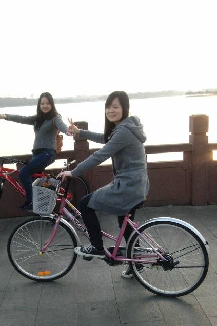 5月29号碧岭瀑布群小桂湾海边浪漫单车海景自助野炊