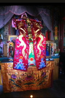 东岳仁威圣帝正月初六到刘家庄