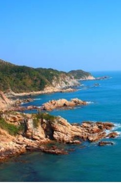 4月19日中国最美丽海岸线-深圳大鹏半岛东西冲穿越摄影